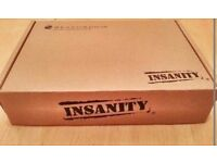 Insanity workout- can send