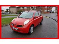 2003 Nissan Micra 1.2 16v SE 3dr --- Automatic --- Cheap on insurance --- alternate4 Jazz yaris