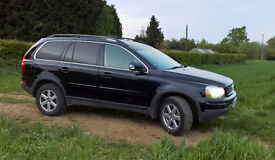 2009 VOLVO XC90 ACTIVE AWD D5 BLACK, Manual, Diesel, Privacy Glass