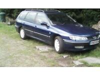 Peugeot 406 estate 2.0.hdi s 2003