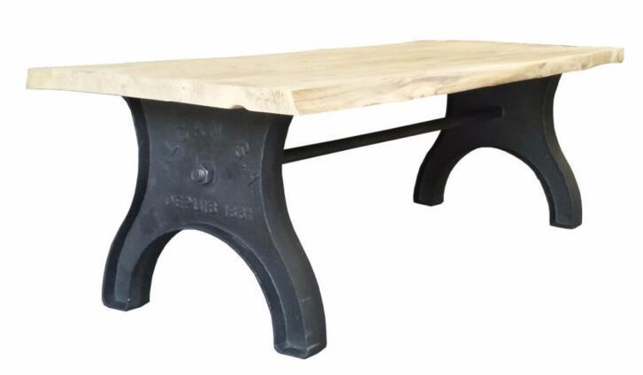 Gietijzeren Tafel Onderstel : Gietijzeren tafelpoten tafelonderstel 2dehands.be