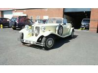 Beauford sports, vintage car hire, weddings, proms, partys