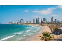 Flight tickets to Israel - for 2 ppl, 1 week's travel
