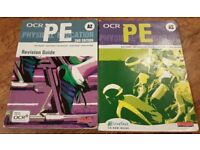 OCR A Level PE Physical Education Student Text and Revision Guide Books