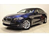 BMW 5 SERIES 2.0 520D SE 4d AUTO 181 BHP + 1 PREV OWNER + SERV (blue) 2012