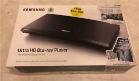 Samsung 4K ultra HD blu-ray UBD-M9000, brand new sealed, with 2 discs