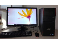 Fujitsu i5 Quad Core 8gb ram Windows 10 PC - ROBLOX gaming ++ FREE DELIVERY ++