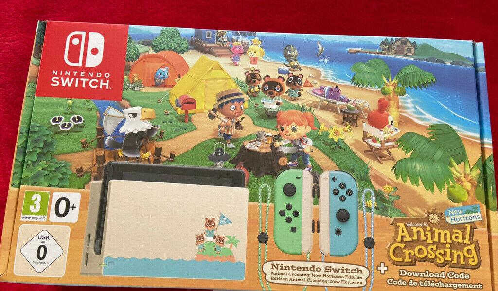 Nintendo Switch Animal Crossing: New Horizons Bundle 32GB ...