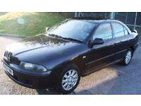 2003 Mitsubishi Carisma 1.6 Elegance saloon - black