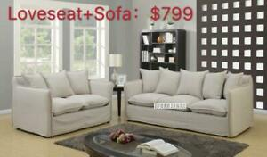 SOFA / LOVESEAT FROM $279  - MANY SELECTIONS --From the largest furniture store--ifurniture