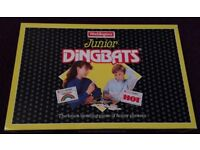 Junior Dingbats Board Game EXCELLENT CONDITION