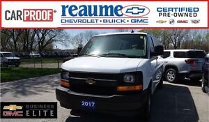 2017 Chevrolet Express 2500 EXT.CARGO VAN WITH REAR GLASS