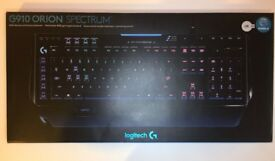 Logitech G910 Orion Spark RGB LED Backlit Mechanical Gaming Keyboard UK