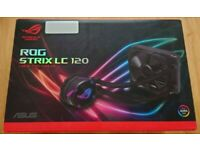 ASUS ROG Strix LC 120 AIO (All In One) CPU Liquid Cooler - Fully Boxed