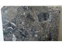 Black/grey Marble Hearth Slab