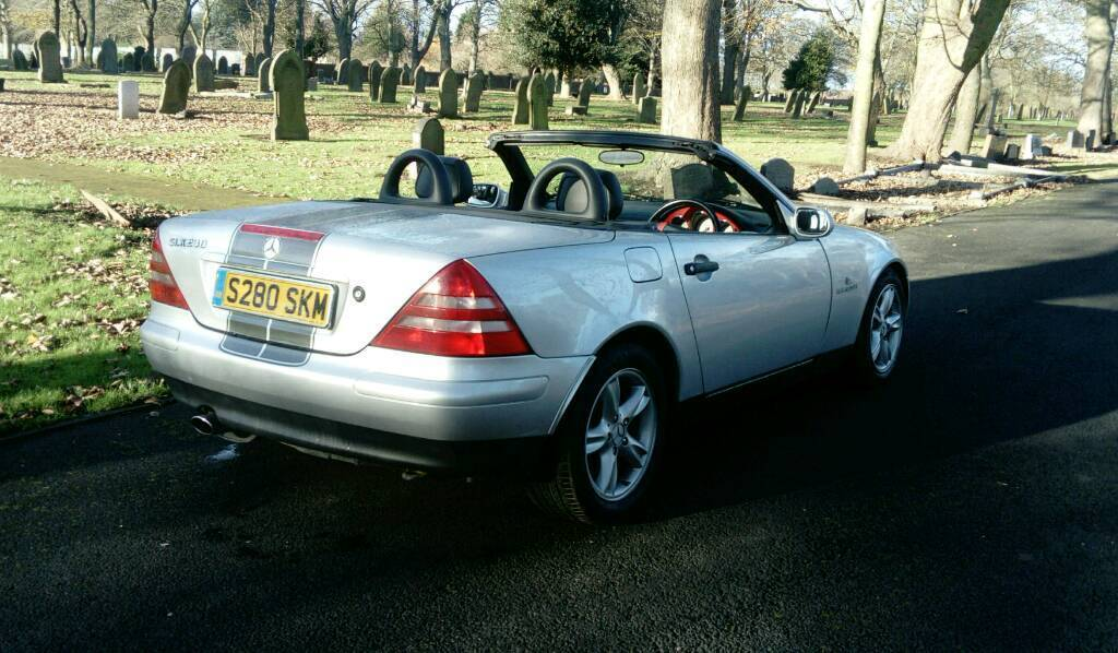 Marvelous Mercedes Sports Car Slk