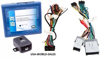 PAC OS-2X Factory Radio Replacement Interface for GM w/Onstar & Bose (Factory Radio Interface)