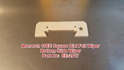 Monarch 10ee Square Dial Metal Lathe Part Ee-2917 Felt Wiper Bottom Slide Wiper
