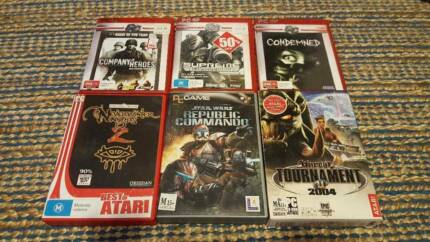 PC Games set - 13 Games