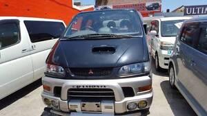 1999 Mitsubishi Delica 4x4 SUV/Van Turbo Diesel - Auto 8 Seater Granville Parramatta Area Preview