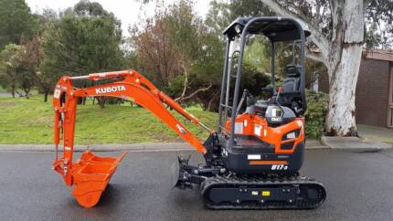 1.7 Ton Excavator Hire $250 P/Day
