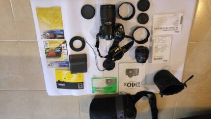 Nikon D40X and Accessories