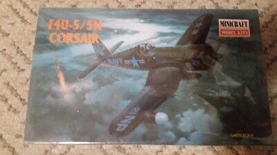 Minicraft F4U-5/5N Corsair Fighter Plane plastic model 1/48 Scale 11617
