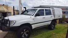 2004 Toyota LandCruiser 1hdfte Dual CAB Factory turbo, solid axle Wangara Wanneroo Area Preview