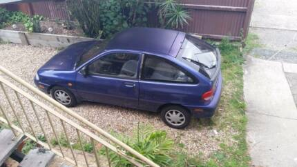 1999 Ford Festiva Hatchback - Purple and well loved Logan Central Logan Area Preview