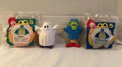 Costume Halloween 95 (McDonalds 1995 Halloween Costume Set of 4 - Ronald Grimace Hamburglar Birdie)