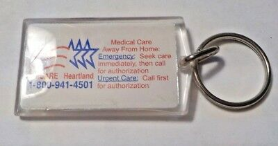 Advertising Acrylic Keychain   Tricare Heartland