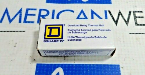 SQUARE D B17.5 OVERLOAD RELAY THERMAL UNIT B17.5 NEW