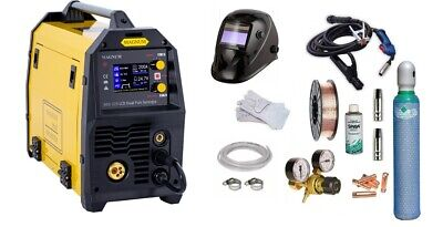 Inverter Schweißgerät MIG 210 E SYNERGIE MMA//MIG//MAG//WIG LIFT IGBT 200A 230V S2