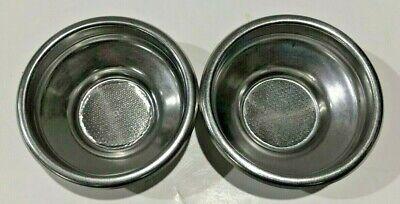 Used Portafilter Insert Cup Basket - 7 Gram Set Of 2 Espresso 1001