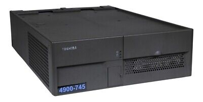 Ibm Pos 4900-745 Compact Terminal Litho Grey Point Of Sale Register