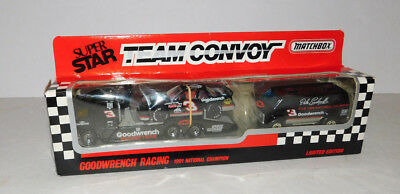 UNOPENED 1991 MATCHBOX 1/64 SCALE DALE EARNHARDT TEAM CONVOY GOODWRENCH SET