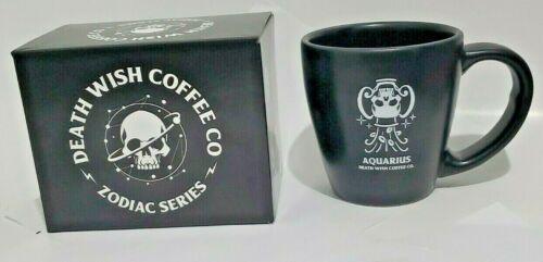 Death Wish Coffee Company Limited Edition Zodiac Series Aquarius Mug (sold out)
