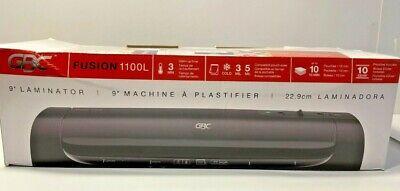 Swingline Gbc Fusion 1100l Thermal Cold Laminator 9 Width Black New In Box