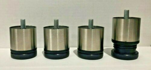 Set of 4 NEW Adjustable Stainless Steel Legs for Espresso Machine    1005