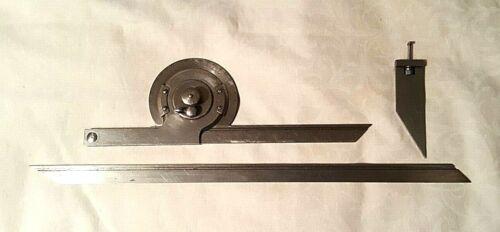 Vintage L.S.STARRETT COMPANY Model No. 364 Precision Universal Bevel Protractor