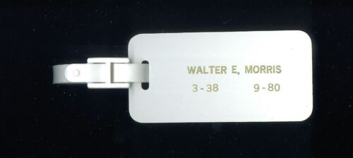 National Airlines Vintage Employee Baggage TAG Sun King Club