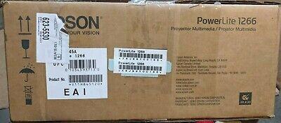 Epson PowerLite 1266 - Portable WXGA 720p 3LCD Projector with Speaker