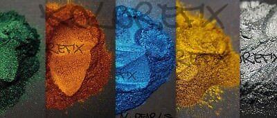 (KolorEFX AL Metallic Pearl Pigment Plastidip Paint Resin Acrylic Dip Flow Art)