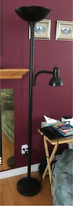 6' Floor Lamp with reading Lamp