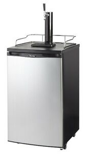 DANBY-FREESTANDING-FULL-KEG-KEGERATOR-BEER-MEISTER-DISPENSER-DKC146SLDB