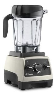 Vitamix 750 Brushed Stainless Finish Blender with 64oz Container