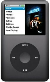 Apple Ipod 120GB - good condition - not powering on - for spares and repair