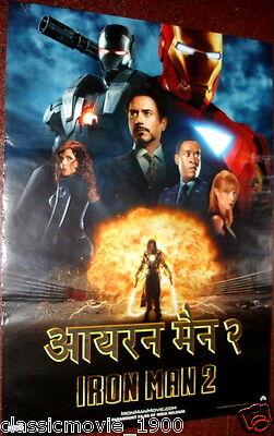 Iron Man 2 Original Movie Poster 1 India 27 X 36