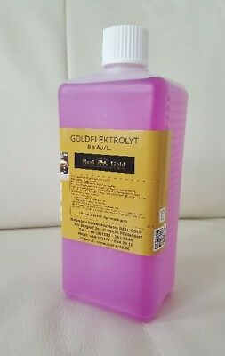 Goldbad -  Badgalvanik 50 ml – Tankplating, Hartvergolden, 4 Gramm Gold/L.  - 50 Ml Bad