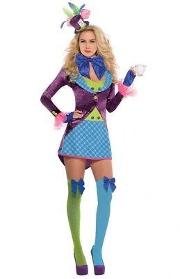 Holly Hutmacherin Kostüm NEU - Damen Karneval Fasching Verkleidung Kostüm